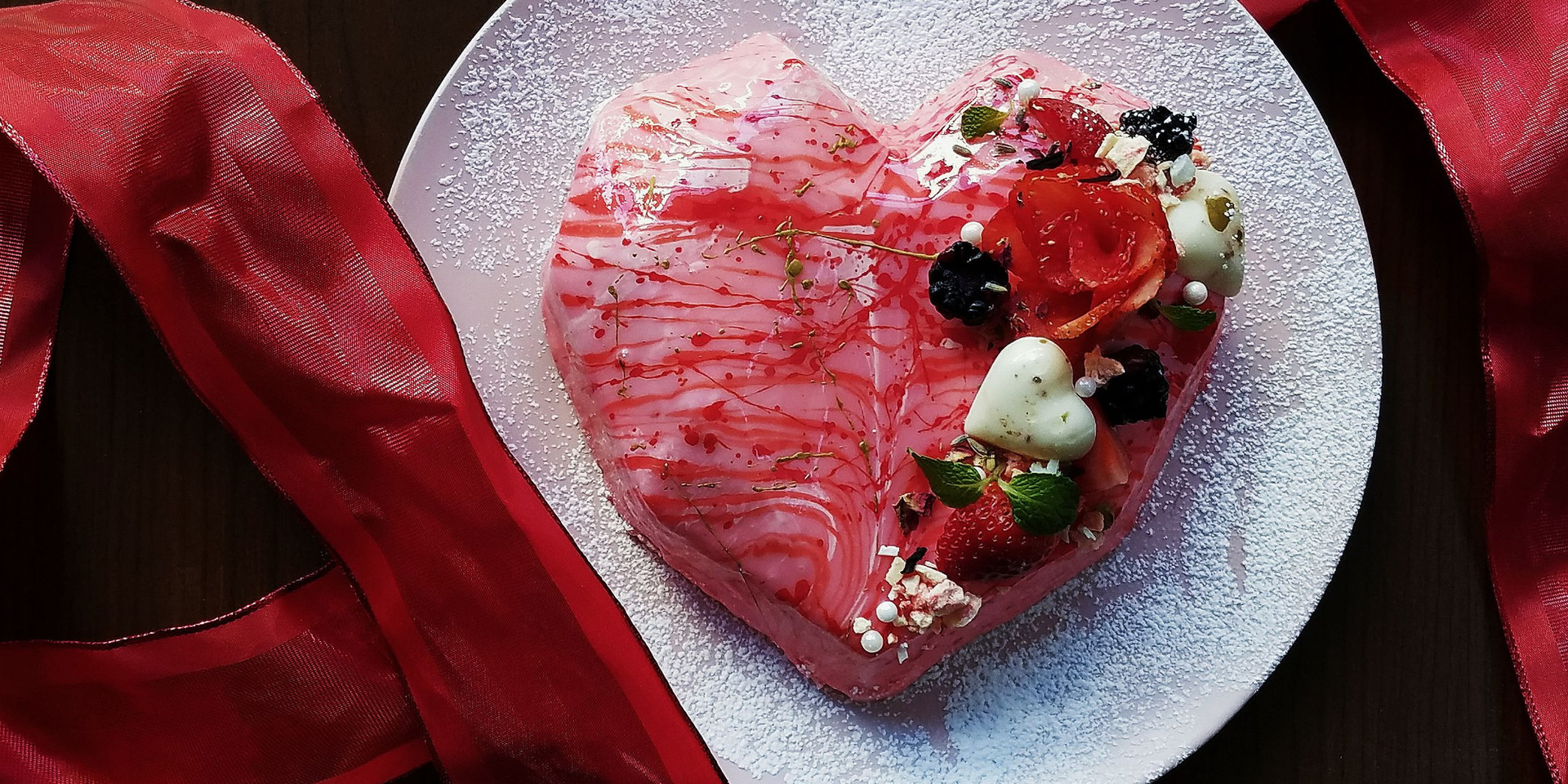 The Romantic Heart Dessert
