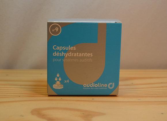 Capsules déshydratantes x4 - N°9 - Audioline