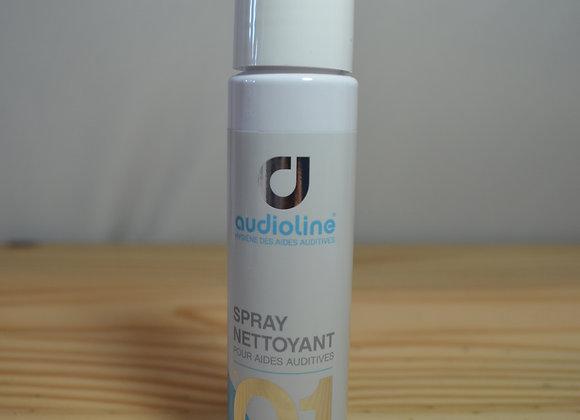 Spray nettoyant + Tissu microfibre - N°01 - Audioline Premium