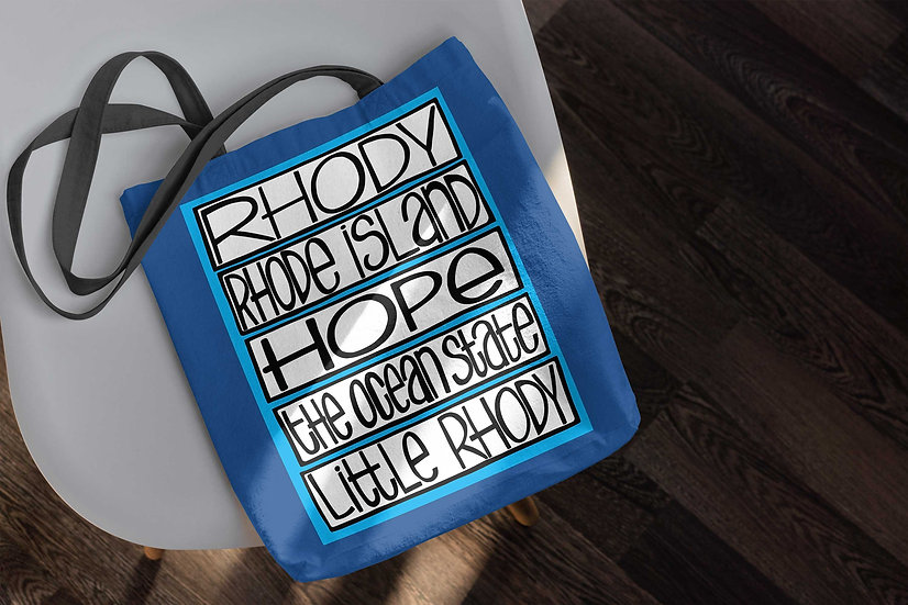 Rhode Island Tote Bag | Rhody Accessories | New England Bag |
