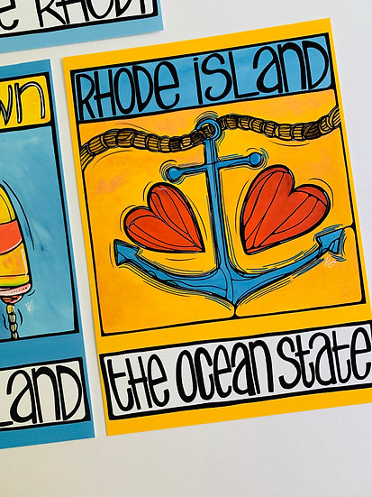 Wholesale Rhode Island SINGLE Postcard