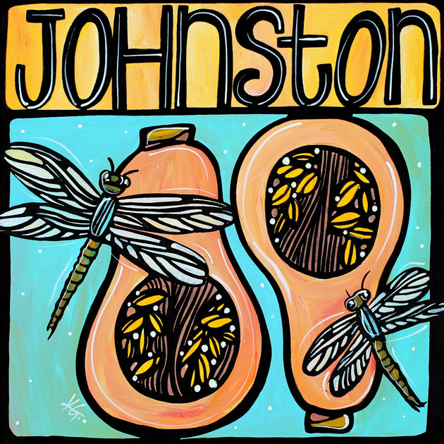 Johnston, Garden in Life