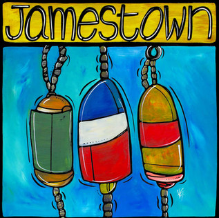 Jamestown, Free as waves.