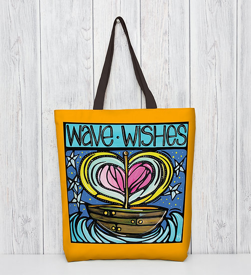 Nautical Tote Bag | Fun Coastal Boating Bag | Boat Lover Gift |