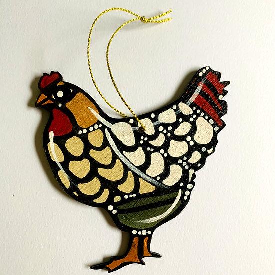 Chicken. Poulette. Yolande.