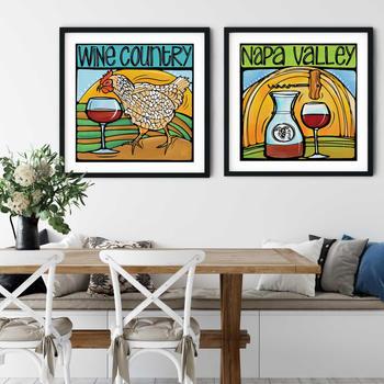 Wine & Food Art Prints