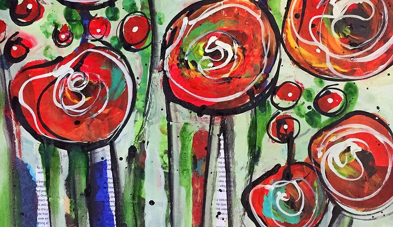Floral Collage artwork