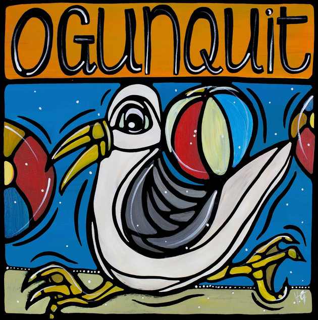 Ogunquit beach wit