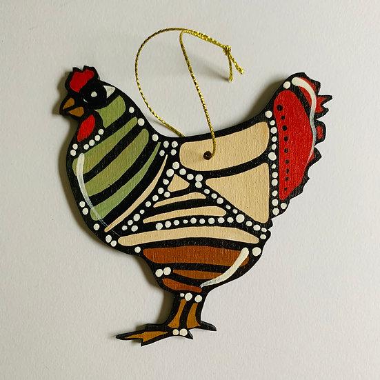 Chicken. Poulette. Suzanne.