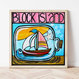 Block Island, Summer Message
