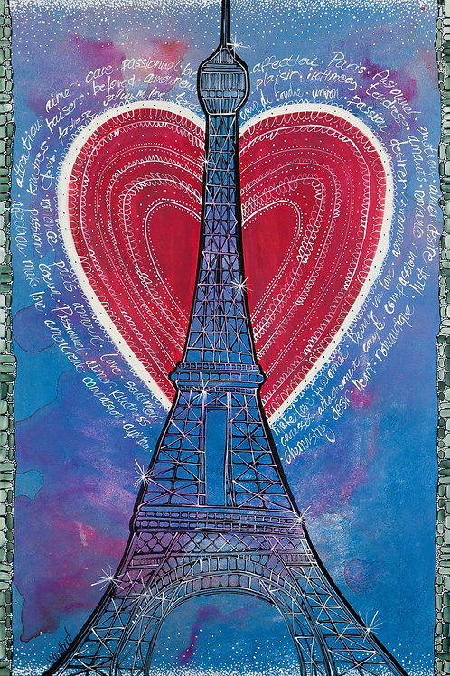 Fly with me to Paris - Fine Art Print