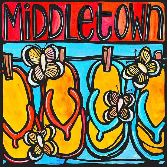 RHODE ISLAND Art Print: Middletown, Newport Art by Artist Veronique Godbout, RI