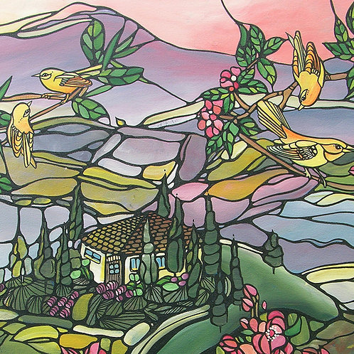 Tuscany Skyfall - Fine Art Print