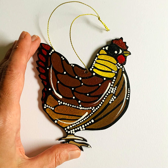Chicken. Poulette. Lucille.
