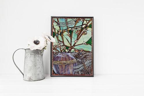 Green Glass Fantasy - Fine Art Print