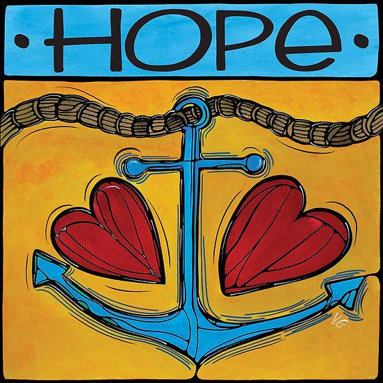 HOPE ANCHOR LOVE