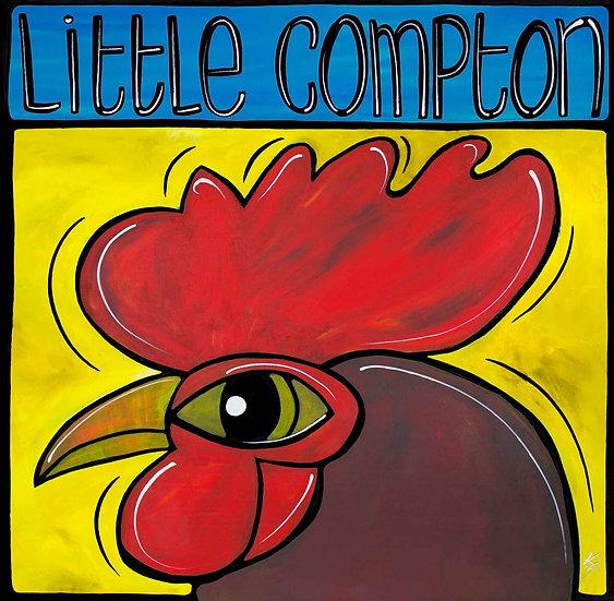 Rhode Island Art Print; Chicken Red, Little Compton RI