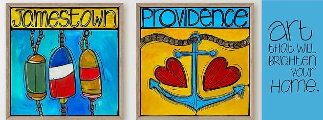 Jamestown Providence artworks