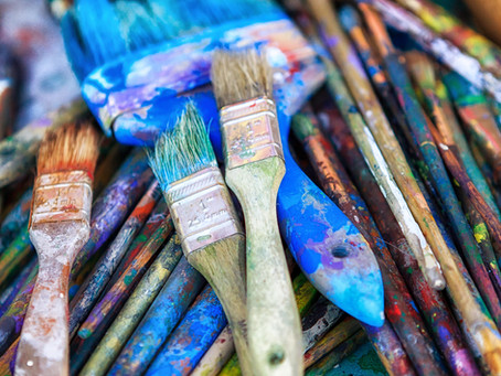 How to choose your Paintbrushes for Acrylic.