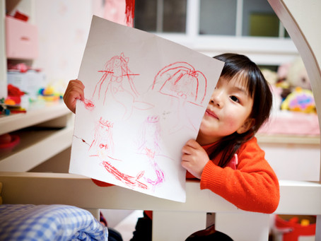 Why and how parents should encourage artistic development in their children.