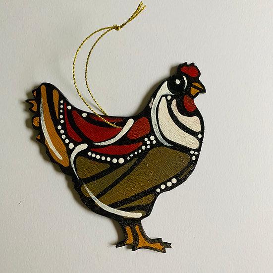 Chicken. Poulette. Monique.