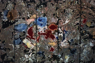 Decipher the Artist's Mind: Nose Bleed (studio Jackson Pollock