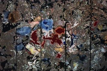 Decipher the Artist's Mind: Nose Bleed (studio Jackson Pollock