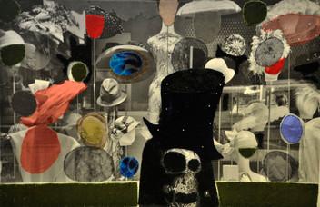 Hats, Alwine as a Skull