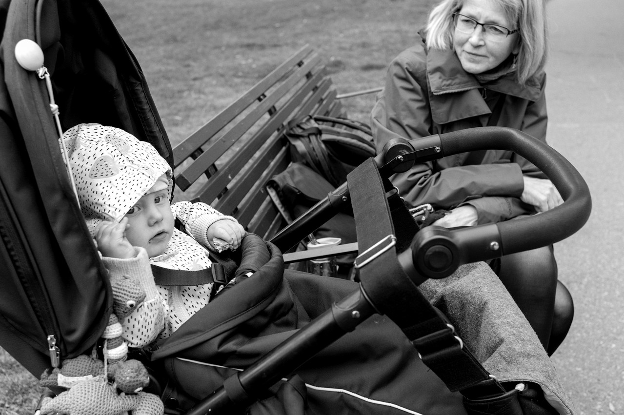 Young E & grandma