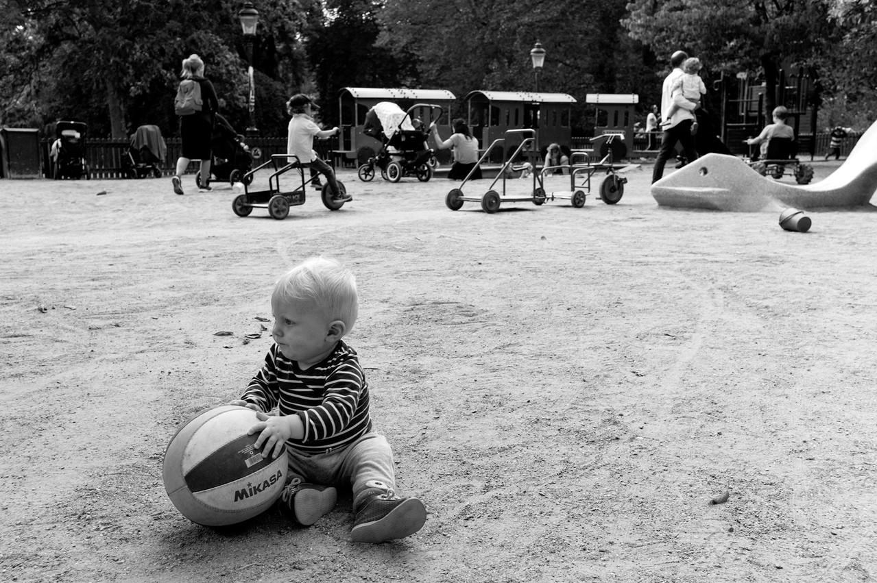 Humlegårdens playgrounds