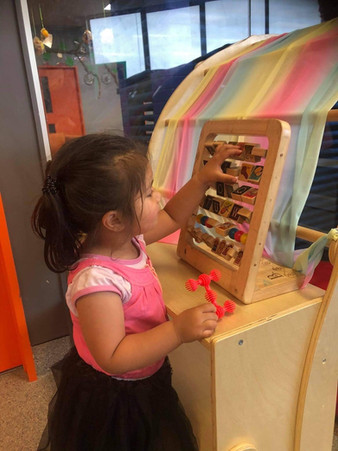 Under 5 year old learning at our Childcare Centre Otahuhu