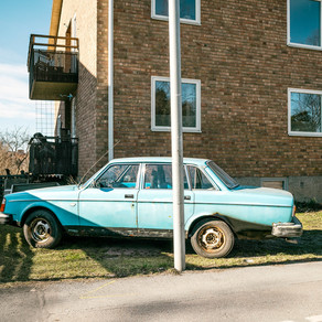 Portraits of Automobiles Past their Prime