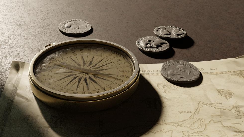 Rough Seas - Compass