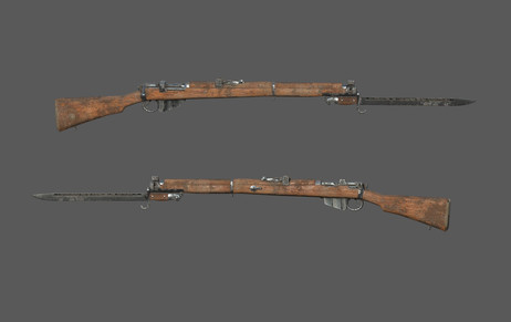 SMLE MkIII Rifle