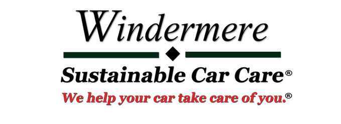 Windermere Sustainable Car Care Logo