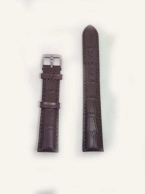 Leather Strap Dark Brown