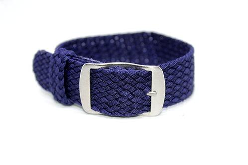 Perlon Strap Navy Blue