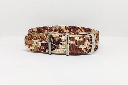 NATO Strap Khaki Camouflage