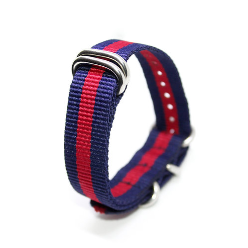 Zulu Strap Dark Blue-Red