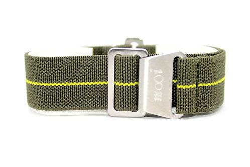 Paratrooper Strap Olive Green - Yellow