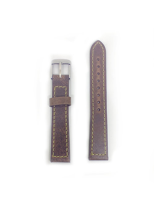 Leather Strap Dark Brown