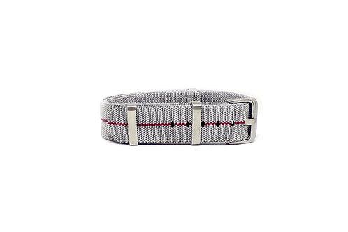 Elastic Strap Grey - Red