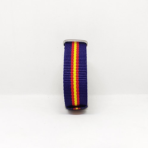 NATO Strap Dark Blue-Red-Yellow