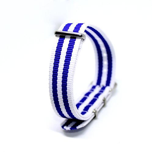 Nato Strap Blue & White