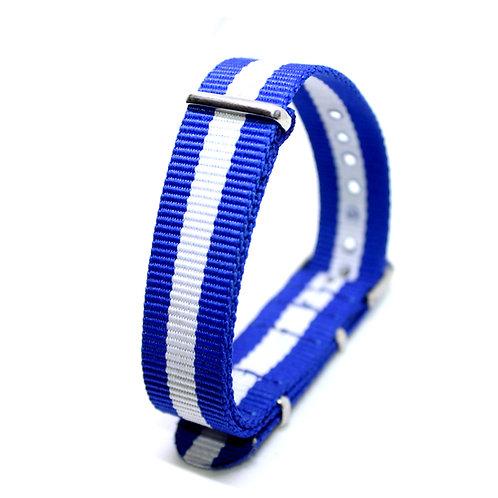 Nato Strap Blue-White