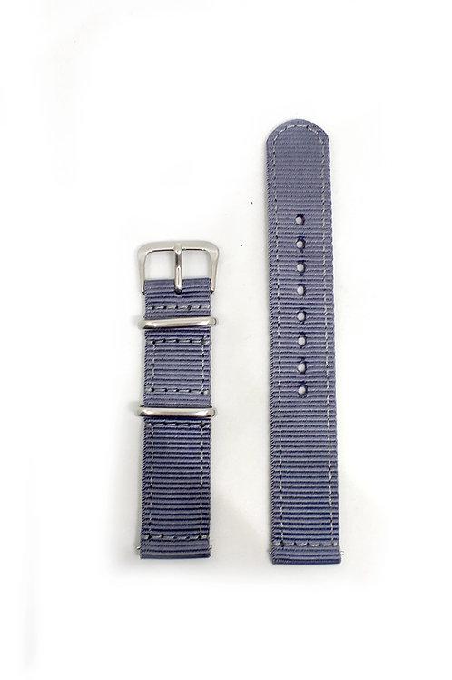 2 PC's Nylon Strap Grey