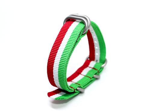 Zulu Strap Italy Flag