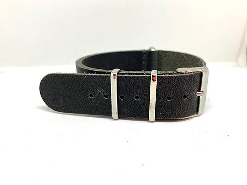 Leather Nato Grey