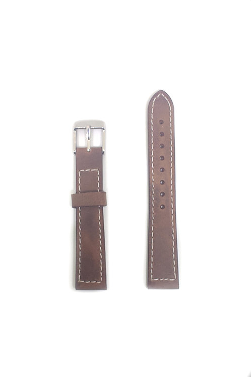 Leather Strap Coffee Brown