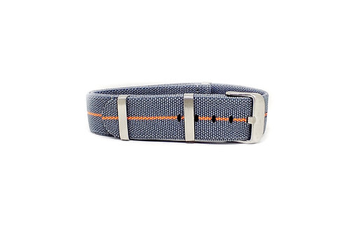 Elastic Strap Dark Grey - Orange